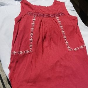 Free People Tops - Free people embroidered Tank